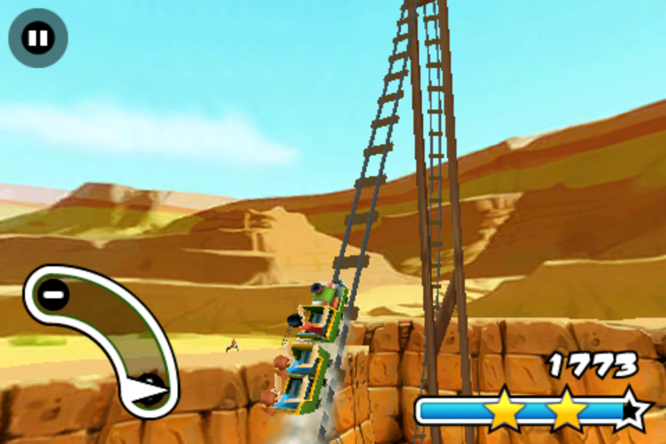 Screenshot 3D Rollercoaster Rush